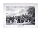 Zoological Gardens, Regent's Park, Marylebone, London, 1835 Giclee Print by George Scharf