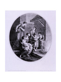 Winter, C1782 Giclee Print by Francesco Bartolozzi