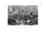 Charge of General Smith's Division, Capture of Fort Donelson, Tennessee, 1862-1867 Giclee Print by Felix Octavius Carr Darley