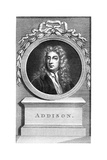 Joseph Addison, English Politician and Writer Giclee Print by Francesco Bartolozzi