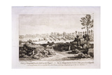 View of Hampstead Heath, Hampstead, London, 1752 Giclee Print by Francesco Bartolozzi