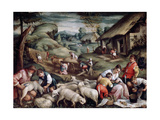 Summer. Sheep Shearing, C1570-C1580 Giclee Print by Francesco Bassano