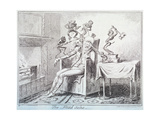 The Head Ache, 1835 Giclee Print by George Cruikshank