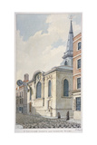 Church of St Swithin London Stone, City of London, 1840 Giclee Print by Frederick Nash