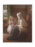 Gran's Treasures, 1866 Giclee Print by George Bernard O'neill