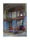 Recess in the Reception Room of Mufti Sheik El Mahadi's House, Cairo, 1873 Giclee Print by Frank Dillon