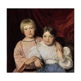 Children, 1834 Giclee Print by Ferdinand Georg Waldmuller