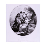 Pomona, C1782 Giclee Print by Francesco Bartolozzi