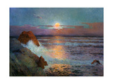 Sun Set by the Sea, 1925 Giclee Print by Fernand Loyen du Puigaudeau