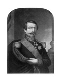 Charles Louis Napoleon Bonaparte, Emperor of the French, 19th Century Giclee Print by George Baxter