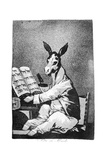 As Far Back as His Grandfather, 1799 Giclee Print by Francisco de Goya