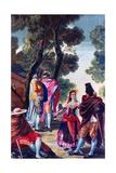 Men with Faces Hidden, C1760-1820 Giclee Print by Francisco de Goya