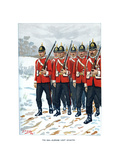 The 69th Durham Light Infantry, C1890 Giclee Print by Geoffrey Douglas Giles