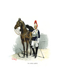 The Horse Guards, C1890 Giclee Print by Geoffrey Douglas Giles