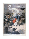 Delivered by Death!, 1896 Giclee Print by Frederic Lix