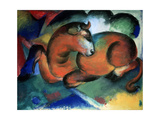 Red Bullock, 1912-1913 Giclee Print by Franz Marc