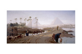 The Subsiding of the Nile, 1873 Giclee Print by Frederick Goodall