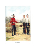 Royal Engineers, C1890 Giclee Print by Geoffrey Douglas Giles