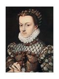 Princess Elizabeth of Austria, C1571 Giclee Print by Francois Clouet