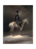 Cossack on Horseback, 1837 Giclee Print by Franz Kruger