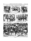 What a Pity the Race of Centaurs Has Become Extinct!, 1866 Giclee Print by George Du Maurier