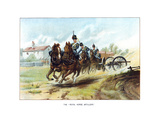 The Royal Horse Artillery, C1890 Giclee Print by Geoffrey Douglas Giles