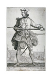 Samuel Mcpherson, Scottish Soldier, 1743 Giclee Print by George Bickham