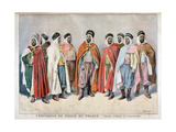 Arab and Tunisian Chiefs, 1896 Giclee Print by Frederic Lix