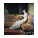 Empress Josephine at Malmaison, C1801 Giclee Print by Francois Pascal Simon Gerard
