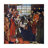The New Learning, C1910, (C1900-192) Giclee Print by Frank Cadogan Cowper