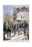 Festival, Paimpol, France, 1898 Giclee Print by F Meaulle
