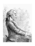 Dr Arne, 1782 Giclee Print by Francesco Bartolozzi