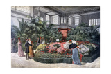 Horticulture Exposition, Cours La Reine, Paris, 1892 Giclee Print by F Meaulle