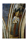 St Gregory, Mid 15th Century Giclee Print by  Fra Angelico