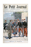 The Child of the Regiment, 1898 Giclee Print by F Meaulle