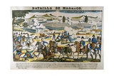 Battle of Marengo, 13 June, 1800 Giclee Print by Francois Georgin