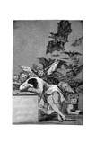 The Sleep of Reason Produces Monsters, 1799 Gicléedruk van Francisco de Goya