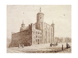 Tower of London, London, C1820 Giclee Print by Frederick Nash