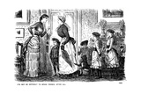 It's Not So Difficult to Speak French, after All, 1882 Giclee Print by George Du Maurier
