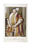 Edward VI, King of England, C1552 Giclee Print by Francesco Bartolozzi
