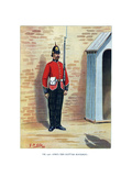 The 25th King's Own Scottish Borderers, C1890 Giclee Print by Geoffrey Douglas Giles