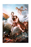 Venus and Mars, C1725-1770 Giclee Print by François Boucher