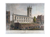 St Andrew Holborn, London, 1804 Giclee Print by Frederick Christian Lewis