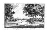 View from the Terrace at Oatland, 18th Century Giclee Print by Francois Vivares