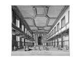 Interior View of the New Chapel, Royal Naval Hospital, Greenwich, London, C1790 Giclee Print by George Bickham