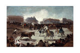A Village Bullfight, C1812-1814 Giclee Print by Francisco de Goya