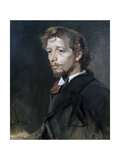 Portrait of a Young Man, C1880 Giclée-Druck von Fritz Karl Hermann Von Uhde