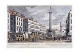 Monument, London, 1794 Giclee Print by George Bickham