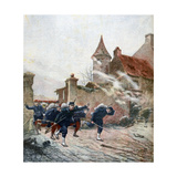Forward!, 1891 Giclee Print by F Meaulle