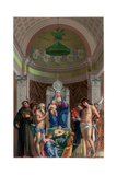 San Giobbe Altarpiece, C1478 Giclee Print by Franz Kellerhoven